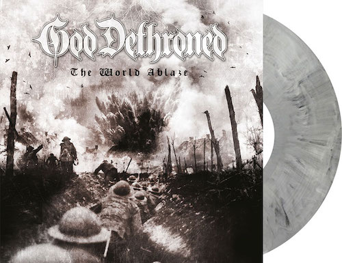 The World Ablaze (grey marbled vinyl)