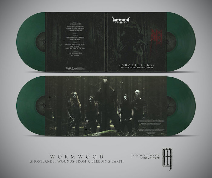 Ghostlands - Wounds from a Bleeding Earth 2LP (green vinyl)