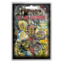 "Plectrum set Iron Maiden ""Early Albums"""