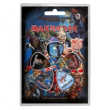 "Plectrum set Iron Maiden ""Later Albums"""