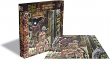 Iron Maiden Somewhere in Time puzzel