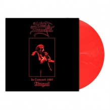 In Concert 1987 - Abigail (translucent red & white marbled vinyl)